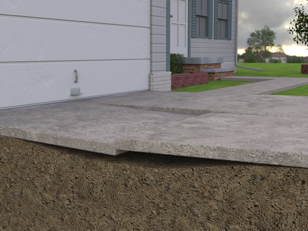 Uneven concrete slabs can be a major concern for homeowners. ...